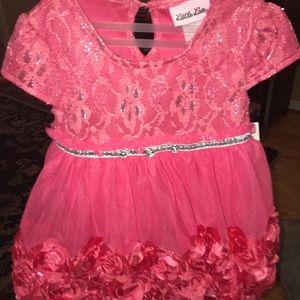 Little Lass. Pink. Dress